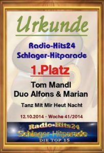 1. Miesto - Radio Hits24